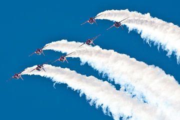 Red Arrows von Nico van Remmerden