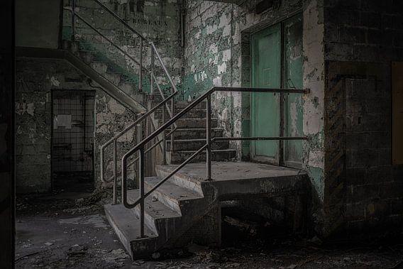 Vervallen trap