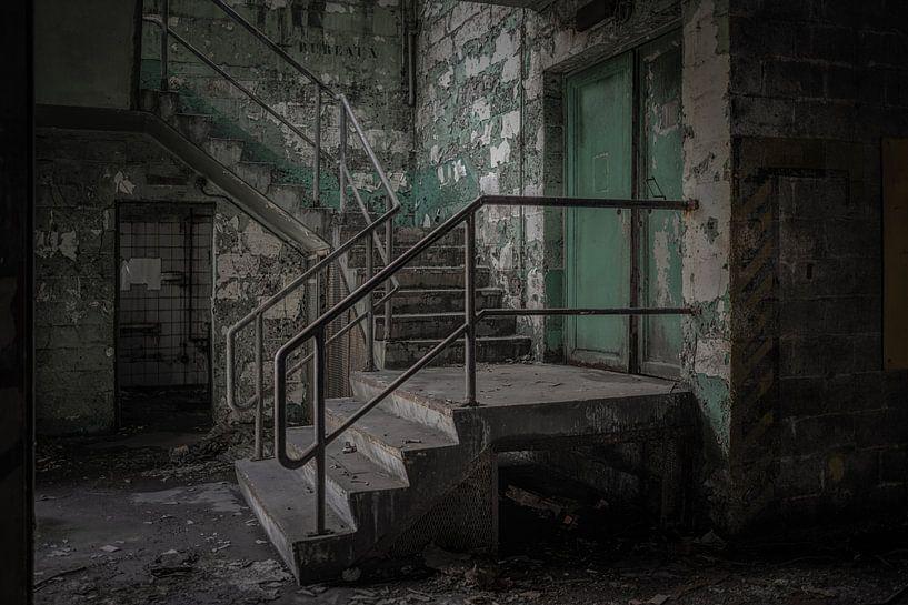 Vervallen trap van Maikel Brands