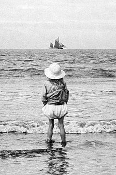 Zeilschip in zicht jaren '20 van