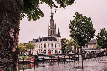 Iconische foto van het Spanjaardsgat in Breda van