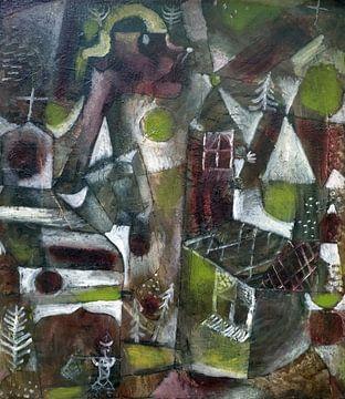 Paul Klee, moeraslegende, 1919 van Atelier Liesjes