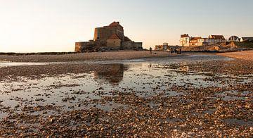 Frankrijk Opaalkust, Fort Ambleteuse. France Opal coast, Fort Ambleteuse. van Anja Bos