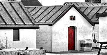 Die rote Tür von Kirsten Warner