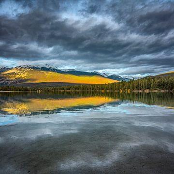 Gebirgssee im Jasper Nationalpark von Chris Stenger