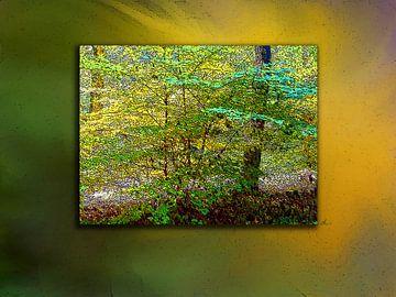 Nageslacht in het bos van Dirk H. Wendt