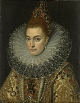 Isabella Clara Eugenia, Frans II Pourbus van Meesterlijcke Meesters