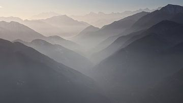 Walliser Alpen vanuit Tessin von Felina Photography