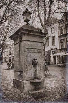 Die St-Mariapumpe in Utrecht von Jan van der Knaap