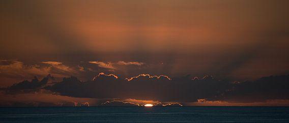 Zonsondergang op Madeira