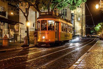 Straatscene uit Lissabon van Stephan Neven