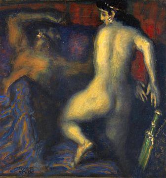 Judith und Holofernes, Franz von Stuck, Um 1927 von Atelier Liesjes
