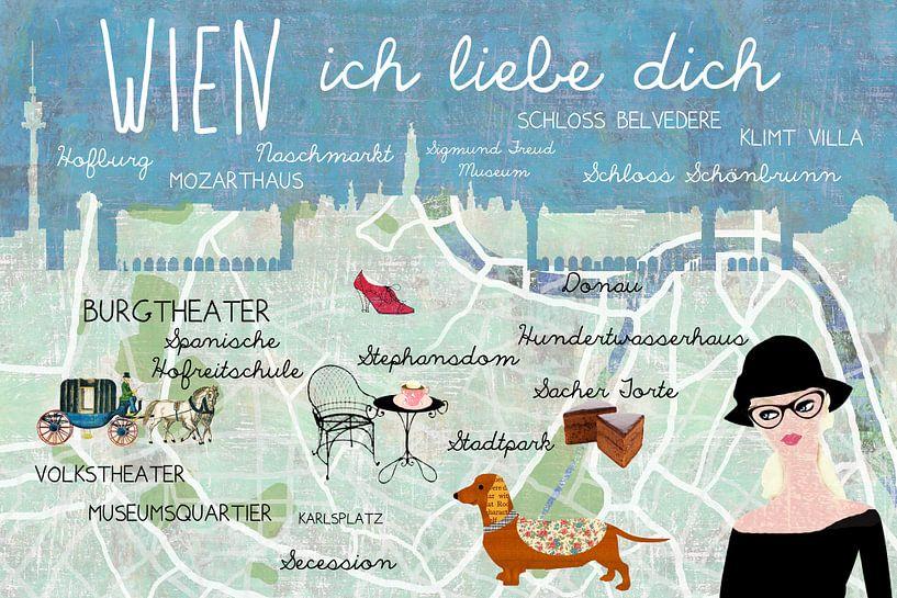Wien – ich liebe dich van Green Nest