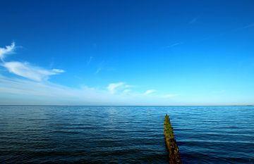 Blaue Ostsee von Heike Hultsch
