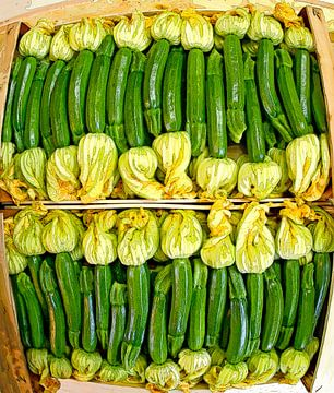 Zucchini van Leopold Brix