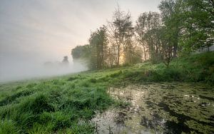 Wandeling in de Leiemeersen naast de Leie in Lauwe, van Fotografie Krist / Top Foto Vlaanderen