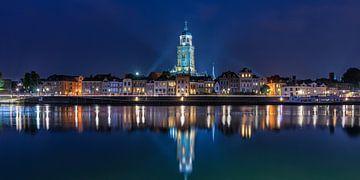 Deventer bei Nacht von Jenco van Zalk