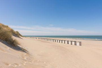 Der Strand von Burgh-Haamstede von Charlene van Koesveld