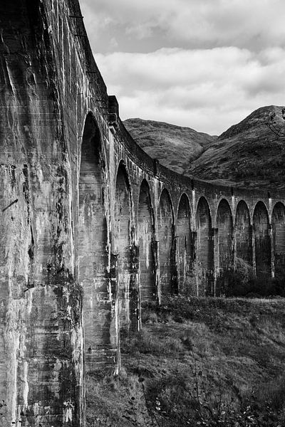 Rauw Glenfinnan viaduct van Stephan van Krimpen