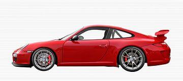 Porsche 911 GT3 Typ 997 in Originalfarbe von aRi F. Huber