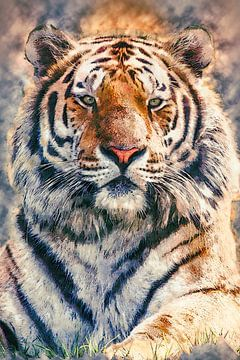 Oeil de tigre (art) sur Art by Jeronimo