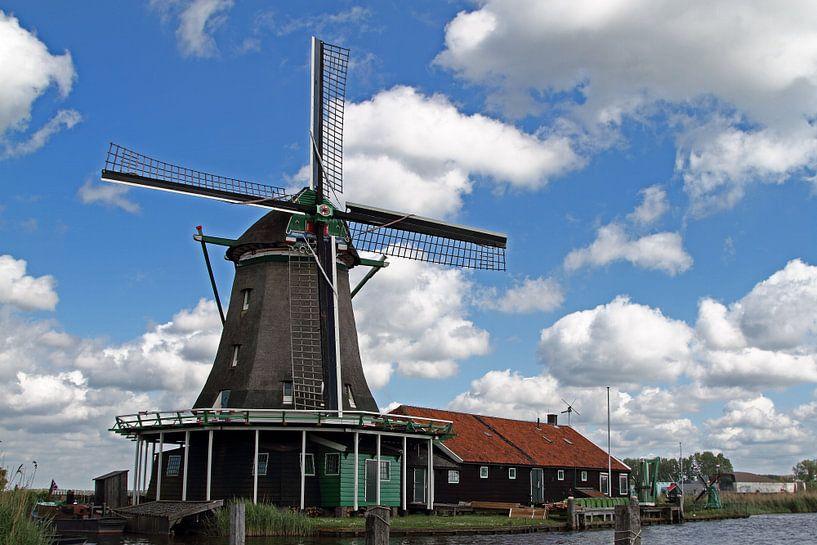 Zaanse Schans in Holland van Menno Schaefer