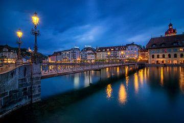 Luzern: Rathaussteg sur Severin Pomsel