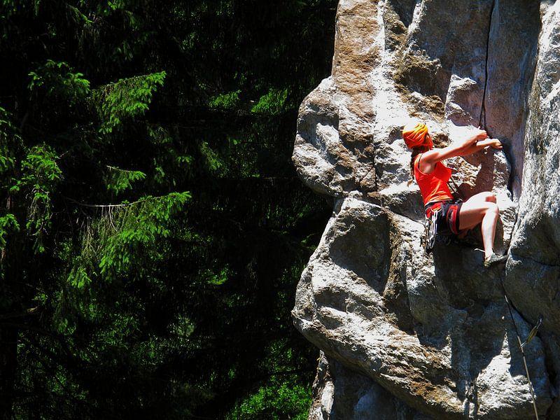 Rock Climbing van menno visser