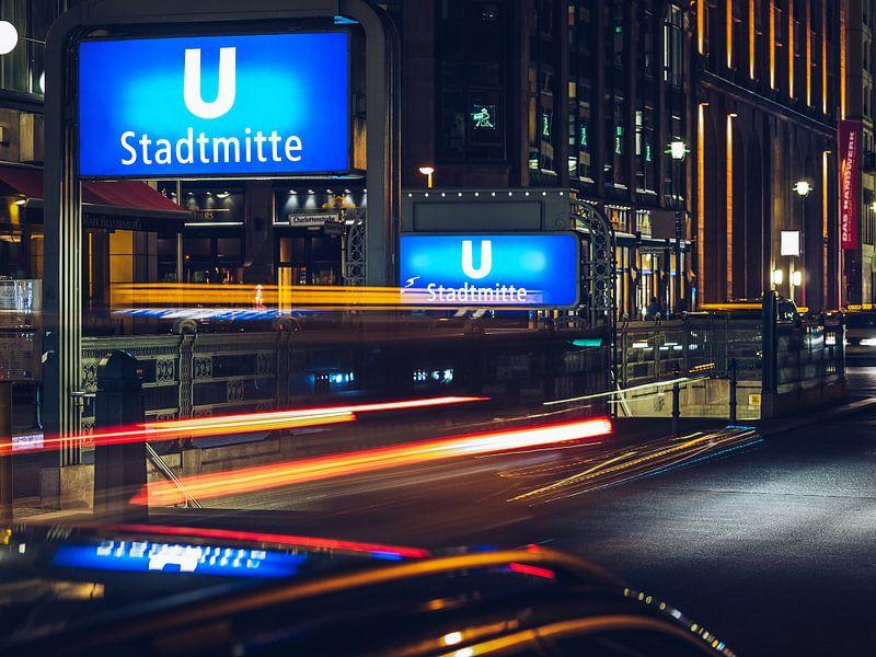Berlin at Night – Stadtmitte / Gendarmenmarkt sur Alexander Voss