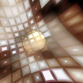 Glasperle van Dagmar Marina