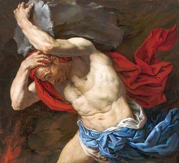 Gemälde Sisyphos, König von Korinth von Atelier Liesjes