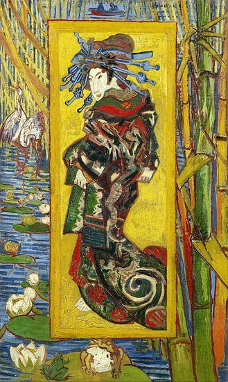 Vincent van Gogh. Courtisane van 1000 Schilderijen