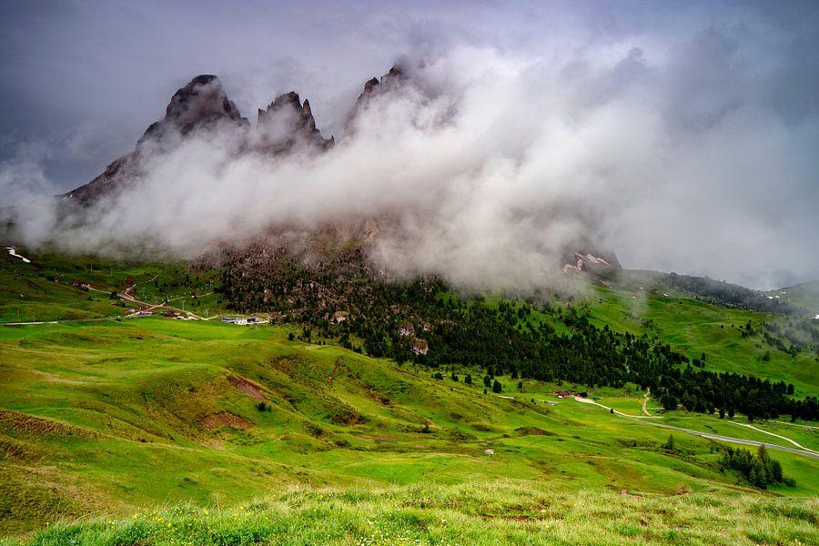 Sella in de wolken