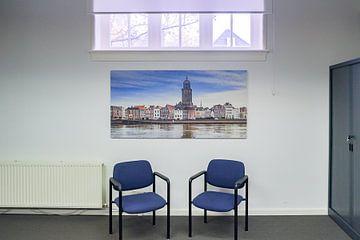Kundenfoto: Deventer - IJsselkade (2018) -2b (small panorama) von Rob van der Pijll