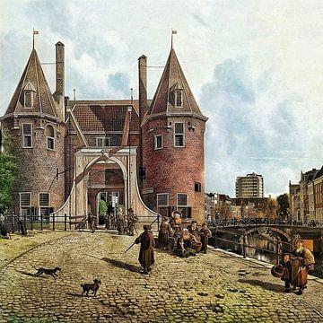 De Weerdpoort 2.0 (bij de Weerdsluis, Utrecht) van Ruben van Gogh