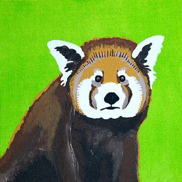 Roter Panda von Teun Poppelaars