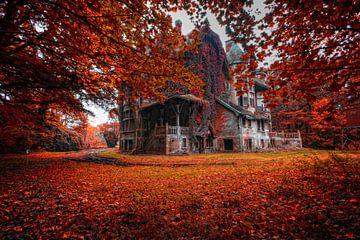 Fall Autum kasteel van Michelle Casteren