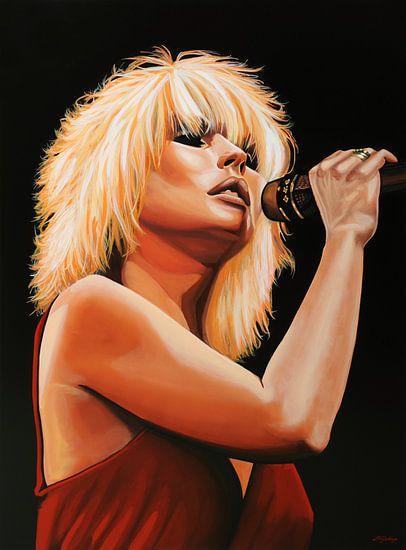 Blondie schilderij