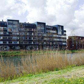 Appartementen langs het Kanaal Apeldoorn van Jeroen van Esseveldt