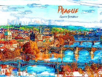 Prag von Printed Artings