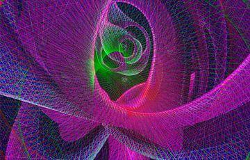 Dynamiek, roze van Rietje Bulthuis