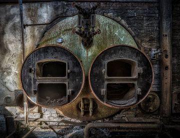 Industrieel gezicht van Kelly van den Brande