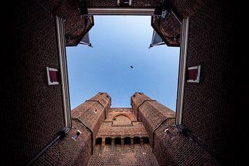 Amsterdamse Poort In Haarlem van koennemans