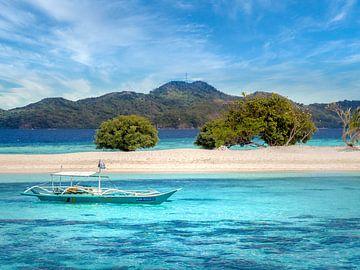 Een boottrip langs de onbewoonde eilanden van Palawan Filipijnen van Rik Pijnenburg