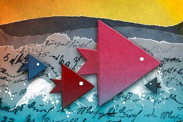 Origami trifft Küche - Fische von Erich Krätschmer