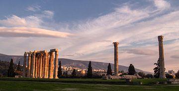 tempel van de Olympische Zeus von Dennis just me