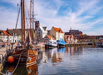Alter Hafen von Wismar in Mecklenburg-Vorpommern von Animaflora PicsStock