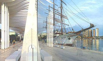 Puerto Malaga van Yannik Art