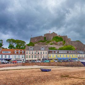 Mount Orgueil - Jersey van Frans van der Ent Fotografie