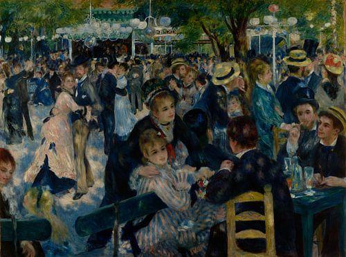 Bal du Moulin de la Galette van Pierre-Auguste Renoir